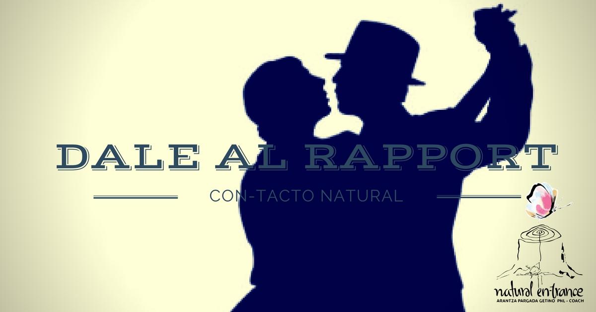Taller de inteligencia emocional y creatividad DALE AL RAPPORT CON-TACTO NATURAL